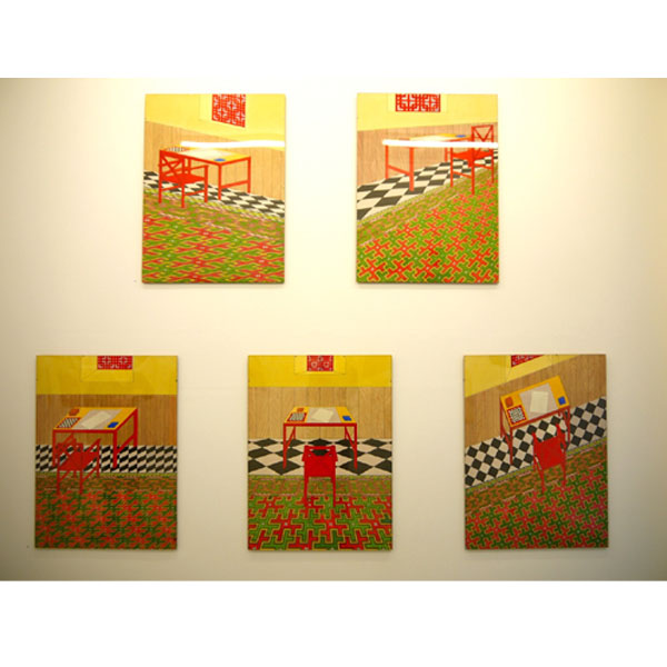 Five Identical Views 1977